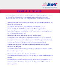 ROX_Umweltleitlinien