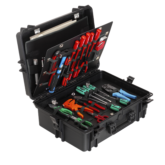MAX505PUTR Werkzeugkoffer mit Rollensystem